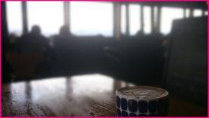 カフェの二人